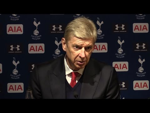 Tottenham 2-0 Arsenal - Arsene Wenger Full Post Match Press Conference