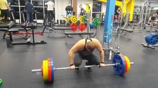 Становая тяга 180 кг на раз  Вес взят!!! 09 02 2016