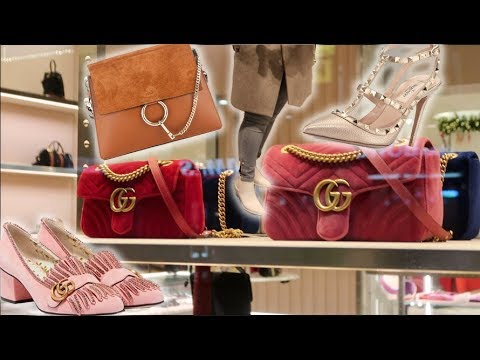 Luxury Shopping VLOGMAS at Nordstrom Bags & Shoes⚡️GUCCI CHLOE VALENTINO + MUCH MORE⚡️Luxury on Sale