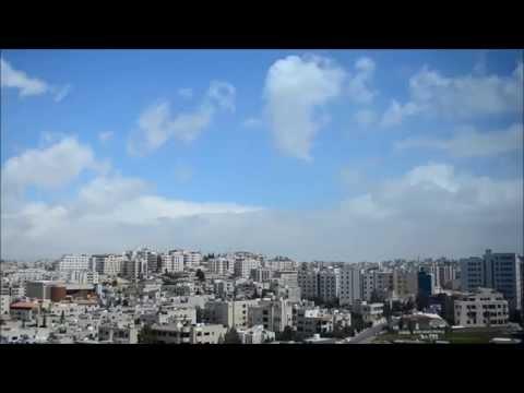 Clouds Time-Lapse - Amman Jordan