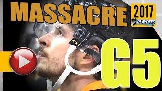 Ottawa Senators vs Pittsburgh Penguins. NHL 2017 Playoffs. Eastern Conference Final. Game 5. (HD)
