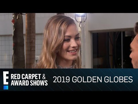 Yvonne Strahovski Gives Mom Advice at 2019 Golden Globes | E! Red Carpet & Award Shows