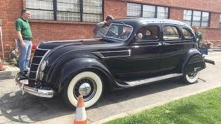 Riding In A 1935 Chrysler Airflow