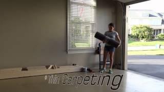 Amanda's Homemade Gymnastics Balance Beam ❤️