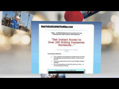 How To Learn Oil Rig Jobs Niche Review-Does It Really Work?