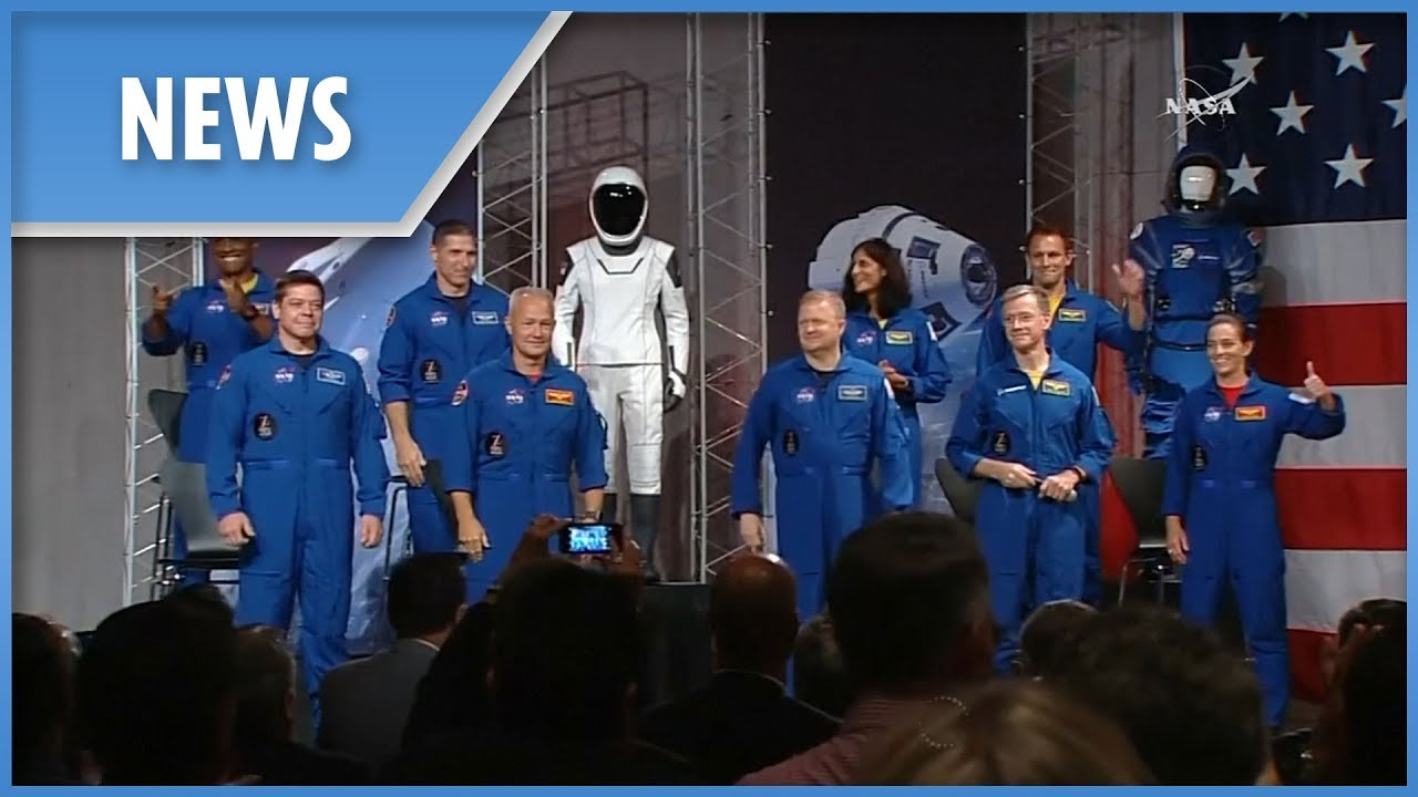 NASA names astronauts for SpaceX, Boeing missions