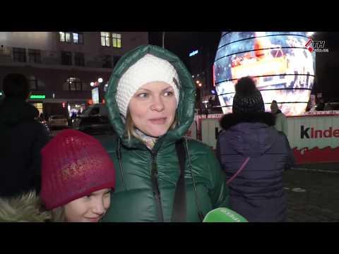 Праздник приближается: в Харькове открыли главную елку города и новогоднюю ярмарку - 19.12.2019