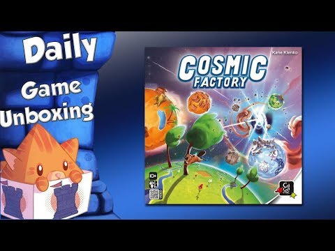 Daily Game Unboxing - Cosmic Factory