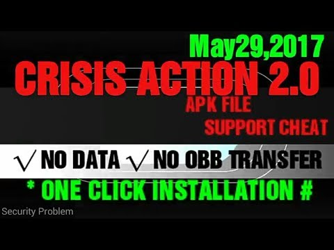 APK 2.0 (291) MOD CRISIS ACTION LATEST SUPPORT CHEAT TOOLS.