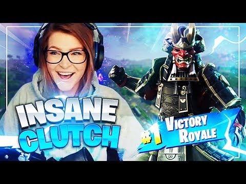 I can't believe I clutched this out... (1V4!) Fortnite: Battle Royale