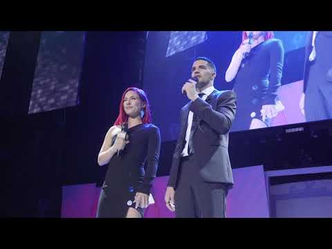 Sharna Burgess & Tony Bellissimo  Kick Off the 2018 Industry Dance Awards
