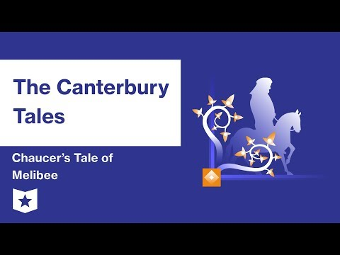 The Canterbury Tales by Geoffrey Chaucer | Chaucer's Tale of Melibee Summary & Analysis