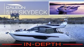 IN-DEPTH Walkthrough @ SUNRISE | 2019 GALEON 510 Skydeck @ MarineMax Lake of the Ozarks, Missouri