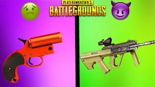 EVERY SPECIAL GUN IN PUBG RANKED FROM WORST TO BEST! - PlayerUnknownsBattlegrounds