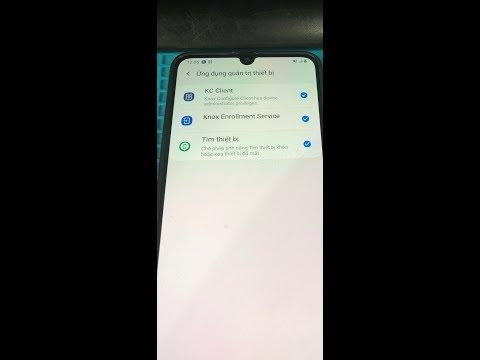 A705F Knox - Samsung A70 A750F Knox MDM