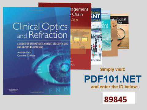 Clinical Optics and Refraction A Guide for Optometrists, Contact Lens Opticians and Dispensing Optic