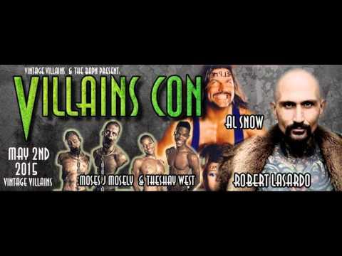 Robert LaSardso Interview re: Villains Comic Con 21015