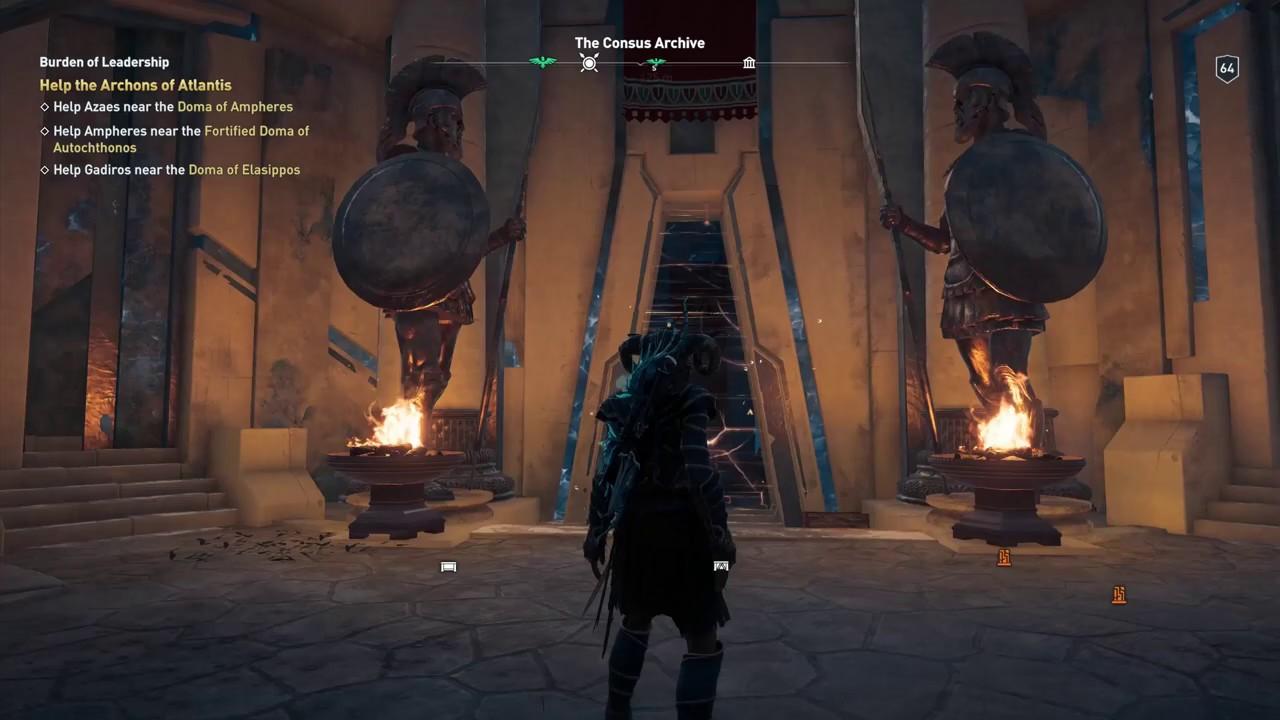 Assassin's Creed Odyssey | The Consus Archive | Isu Cache, Isu Codex & Isu  Medical Device