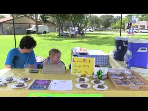 Lemonade Stand Bake Sale Founders Corner Mp4