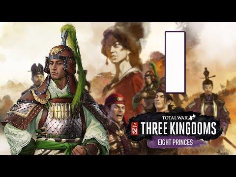 Прохождение Total War: Three Kingdoms - Eight Princes #1 - Война Восьми Князей [Сыма Ай]