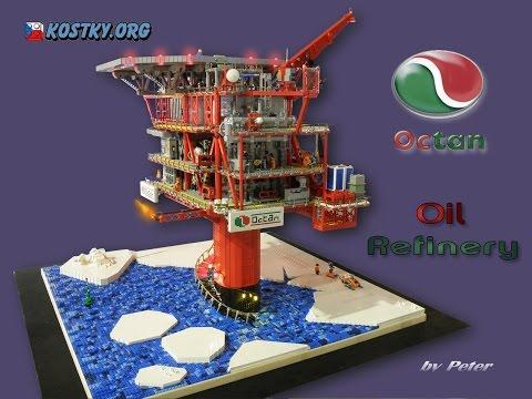 LEGO OCTAN Oil Refinery
