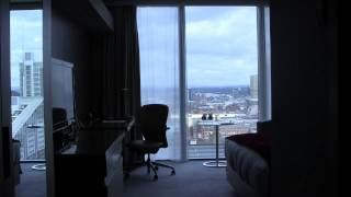 Hotel Review: Hilton, Deansgate, Manchester, Greater Manchester, England - August, 2015
