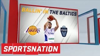 Are the Los Angeles Lakers scouting LiAngelo Ball? | SportsNation | ESPN