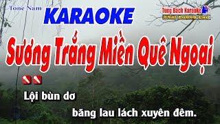 Sương Trắng Miền Quê Ngoại Karaoke 123 HD - Nhạc Sống Tùng Bách