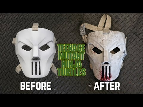 Neca TMNT Casey Jones Mask Review & Makeover- Chris' Custom Collectables!