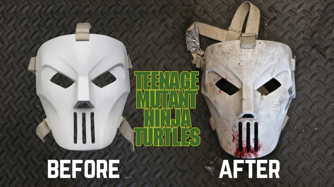 Cosplay TMNT Casey Jones Mask Teenage Mutant Ninja Turtles
