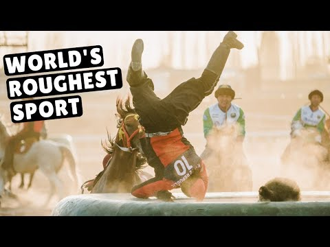 ROUGHEST SPORT IN THE WORLD | Kok Boru World Nomad Games Day 4 | Кок-бору