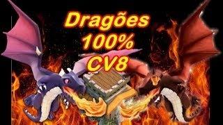 Clash of Clans - Como dar PT em qualquer CV8