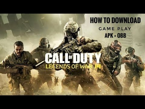How to download Call of duty mobile, gameplay, apk + obb file  #Smartphone #Android