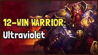 Hearthstone Arena | 12-Win Warrior: Ultraviolet (Rastakhan #16)