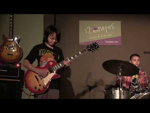 """Kids Band Perform, """"Sunshine of Your Love"""" at 12 Grapes with Special Guest Peter Calo"""