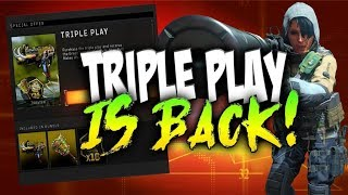 TRIPLE PLAY IS BACK in BO4! - Zero Specialist Overpowered?