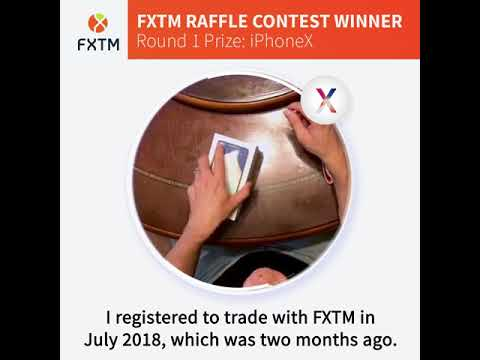 FXTM WHEEL OF FORTUNE: Round 1 winner unboxes their prizes!