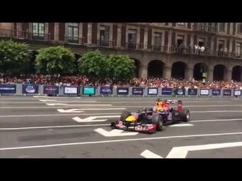 Red Bull F1 Showrun - Cd. Mexico