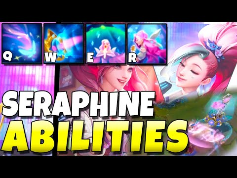 SERAPHINE ABILITIES REVEALED GAMEPLAY!!! - League of Legends