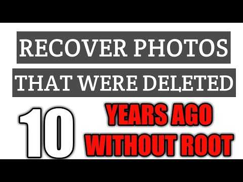 How To Restore Deleted Photos From Android Without Rooting