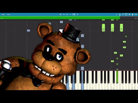FNAF Piano Medley  The Living Tombstone 1 2 3 4  Piano  Version