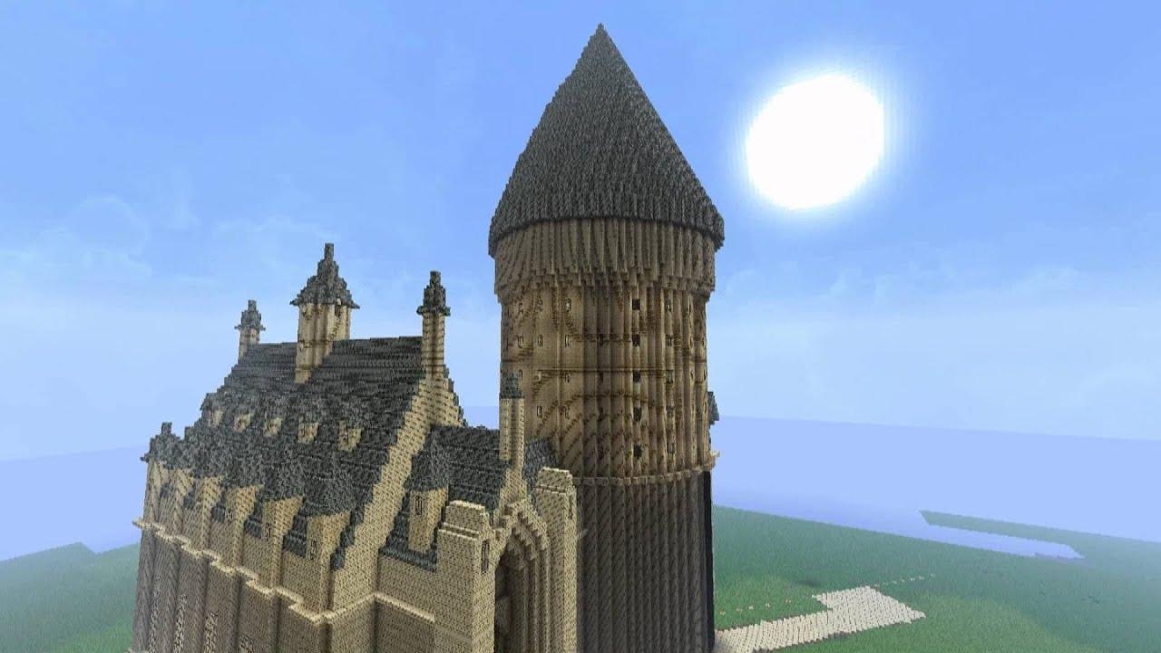 Minecraft Hogwarts, Week 2: Grand Staircase + Boat House - YouTube