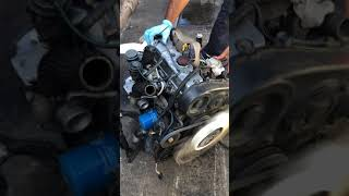 HYUNDAI D4BH 2.5L TURBO DIESEL START UP