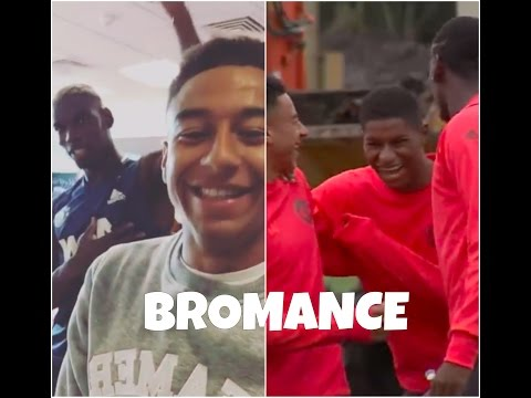 Pogba, Lingard and Rashford || BROMANCE || Best moments