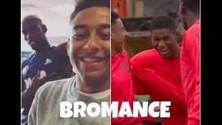 Pogba, Lingard and Rashford || BROMANCE ||Best moments