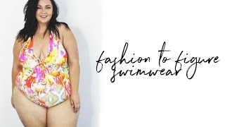 PLUS SIZE FASHION TRY ON HAUL | new Fashion to Figure SWIMWEAR!