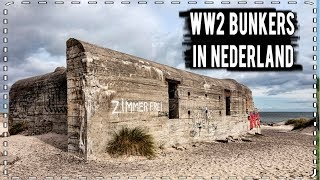 2e WERELD OORLOG BUNKERS GEVONDEN!! (in NEDERLAND!) #VAELTAX