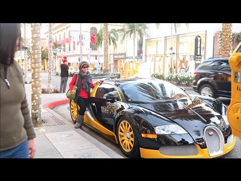 NEVER TOUCH A SUPERCAR..
