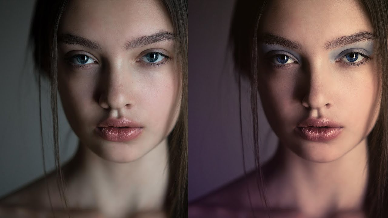 Мастер класс по ретуши портретного фото в Photoshop CC