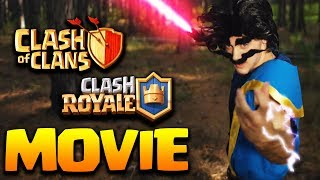 ELECTRO WIZARD vs VALKYRIE -EPIC CLASH BATTLES -  CLASH ROYALE CLASH OF CLANS MOVIE HD 2018
